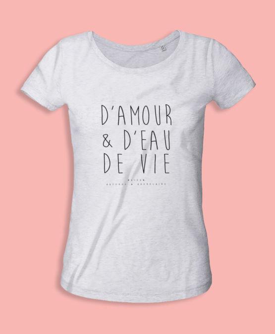 T-Shirt coton Bio Femme